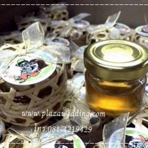 น้ำผึ้ง 1 ออนซ์ แพคกล่องไม้ไผ่