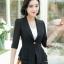 เสื้อสูทแฟชั่น เสื้อสูทสำหรับผู้หญิง พร้อมส่ง สีดำ ผ้าคอตตอน 100 % เนื้อดี คุณภาพงานพรีเมี่ยม thumbnail 3