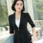 เสื้อสูทแฟชั่น เสื้อสูทสำหรับผู้หญิง พร้อมส่ง สีดำ ผ้าคอตตอน 100 % เนื้อดี คุณภาพงานพรีเมี่ยม thumbnail 6
