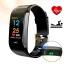Smart Bracelet CK18s - นาฬิกาอัจฉริยะ ระบบเต็ม นับก้าว,แจ้งแคลลอรี่,ระยะทาง,อัตราการเต้นหัวใจ,ความดันโลหิต thumbnail 3