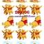 BP006 กระดาษแนพกิ้น 21x30ซม. ลายหมีพูห์ thumbnail 2