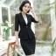 เสื้อสูทแฟชั่น เสื้อสูทสำหรับผู้หญิง พร้อมส่ง สีดำ ผ้าคอตตอน 100 % เนื้อดี คุณภาพงานพรีเมี่ยม thumbnail 7