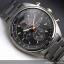 Seiko Men's SNDF91P1 Chronograph Black/Gold Dial Stainless Steel Watch thumbnail 3