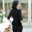 เสื้อสูทแฟชั่น เสื้อสูทสำหรับผู้หญิง พร้อมส่ง สีดำ ผ้าคอตตอน 100 % เนื้อดี คุณภาพงานพรีเมี่ยม thumbnail 2