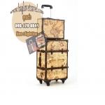 กระเป๋าเดินทางวินเทจ รุ่น vintage classic ขนาด 20 นิ้ว