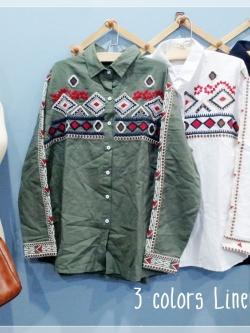Cool Cowboy Shirt Linen 3 colors.