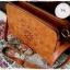 กระเป๋าหนัง pu รุ่นสะพายไหล่ซิปคู่ งานฉลุ thumbnail 3
