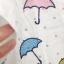 เสื้อคอตตอนลายจุด ปักร่ม ลายจุดสีดำ thumbnail 3
