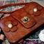 กระเป๋าหนัง pu รุ่นสะพายไหล่ทรงกระเป๋าสตางค์ thumbnail 7