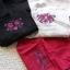 เอี๊ยมกางเกงลินินสไตล์โมริ ปักดอกไม้ thumbnail 21
