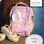 (Genuine) Anello backpack canvas mini pastel colors Lavender สีม่วงอ่อน thumbnail 2