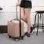 กระเป๋าเดินทาง 18 นิ้ว สีโรสโกล์ thumbnail 3