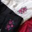 เอี๊ยมกางเกงลินินสไตล์โมริ ปักดอกไม้ thumbnail 20