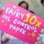 กระดาษซับมันชาโคล (Fairy 10X Oil Control Paper By Fairy Fanatic) thumbnail 10