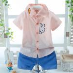 **ชุดเซ็ตกางเกงขาสั้นเสื้อเชิ๊ตรูปกระต่ายชมพู size:S-XL ( 4pcs/pack) | 4ชุด/แพ๊ค | เฉลี่ย 180/ชุด