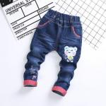 **กางเกงยีนต์ขายาวหมี I am Gery happy size= L-4XL | 5ตัว/แพ๊ค | เฉลี่ย 155/ตัว