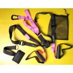 เชือกออกกำลังกาย MAXXFiT Supension Trainer Workout Straps สีชมพู