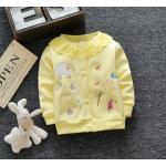 **เสื้อแขนยาว สีเหลืองอ่อน รูปผีเสื้อ ผึ้งน้อย size= S-XL   4ตัว/แพ๊ค   เฉลี่ย 175/ตัว
