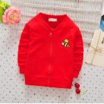 **เสื้อแขนยาวผึ้งน้อย สีแดง S-M-XL = 1 pack   3ตัว/แพ๊ค   เฉลี่ย 150/ตัว
