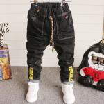 **กางเกงยีนต์ขายาวเชือกผูกหลากสี OFF-WHITE size= 16-17-18-19-20 | 5ตัว/แพ๊ค | เฉลี่ย 140/ตัว