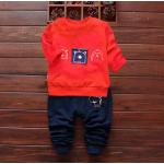 **ชุดเซ็ตPigสีแดง กางเกงขายาว size = 100-110-120 | 3ชุด/แพ๊ค | เฉลี่ย 150/ชุด