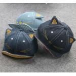 **หมวกแมวน้อยผ้ายีนต์ เข้ม,อ่อน,น้ำเงิน (6 pcs/pack) | 6ใบ/แพ๊ค | เฉลี่ย 70/ใบ