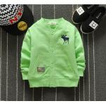 **เสื้อแขนยาวรูปกวาง สีเขียว   เขียว   S-XL   4ตัว/แพ๊ค   เฉลี่ย 150/ตัว