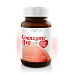 วิสทร้า โคเอ็นไซม์ คิว10 30 mg. (Vistra Co Enzyme Q10)