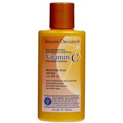ลด 30 % AVALON ORGANICS :: Vitamin C Moisture Plus Lotion SPF15 มอบความชุ่มชื่น พร้อมทั้งปกป้องจากแสงแดด สำหรับทุกสภาพผิว