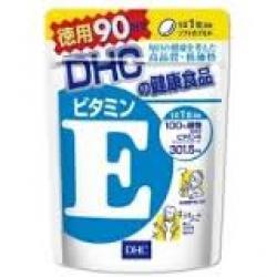 DHC Vitamin E (90วัน) ช่วยลดจุดด่างดำต่างๆ ฝ้า กระ ลดริ้วรอย ลดปัญหาผิวแห้งกร้าน เพิ่มความชุ่มชื้นให้แก่ผิว ชะลอความแก่ คืนความอ่อนเยาว์ให้แก่ผิวพรรณ