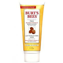 BURT'S BEES :: Burt's bee Fragrance Free Shea Butter & Vitamin E Body Lotion เพิ่มความนุ่ม ชุ่มชื่น อ่อนโยน แม้ผิวแพ้ง่าย