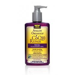 ลด 30 % AVALON ORGANICS :: CoQ10 Repair - Facial Cleansing Gel เจลล้างหน้า ไร้สารตกค้างบนผิวหน้า ฟื้นฟูผิวให้ชุ่มชื่น กระชับขึ้น
