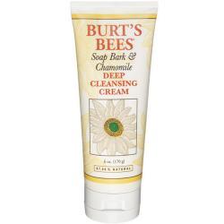 BURT'S BEES :: Burt's bee Soap Bark and Chamomile Deep Cleansing Cream ครีมล้างหน้าเข้มข้น แต่อ่อนโยน สำหรับล้างเครื่องสำอาง หนึ่งในสินค้าขายดีขอ