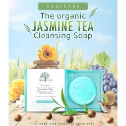 สบู่โซลแคร์ Soulcare Jasmine Tea 1 ก้อน รักษาสิวอักเสบ สิวสเตียรอยด์ หน้ามัน ราคา 249 บาท