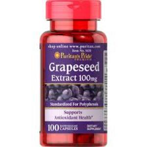 Puritan's Pride Grapeseed Extract 100 mg / 100 Capsules