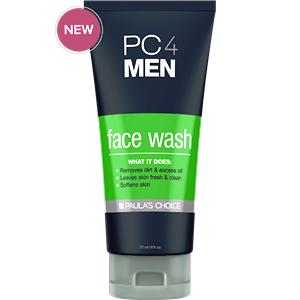 ลด 20 % PAULA'S CHOICE :: PC4MEN Face Wash เจลล้างหน้าสำหรับผู้ชาย ลดสิว ริ้วรอย รอยแดง ลดความมันส่วนเกิน ปรับผิวให้ชุ่มชื่น
