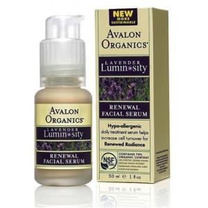 ลด 30 % AVALON ORGANICS :: Lavender Luminosity - Renewal Facial Serum เซรั่มขาวกระจ่างใส เรียบเนียน พร้อมต่อต้านอนุมูลอิสระได้ดี