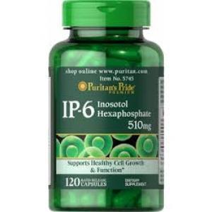 Puritan's Pride IP-6 Inositol Hexaphosphate 510 mg / 120 Capsules