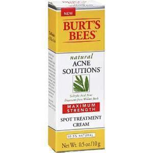 BURT'S BEES :: Natural Acne Solutions Maximum Strength Spot Treatment Cream ลดการเกิดสิวรอยแดงที่เกิดจาดสิว ไม่ระคายเคือง