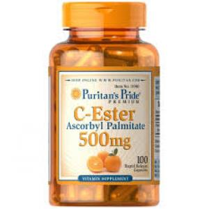 Puritan's Pride C-Ester Ascorbyl Palmitate 500 mg / 100 Caps