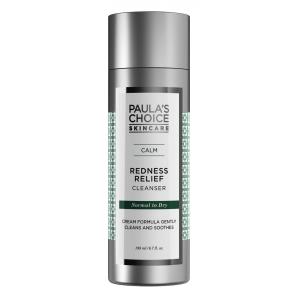 ลด 25 % PAULA'S CHOICE :: Calm Redness Relief Cleanser (Normal to Dry Skin) โลชั่นล้างหน้าสูตรอ่อนโยน สำหรับผิวแห้งแพ้ง่าย ช่วยทำความสะอาดผิวล้ำลึก คืนความชุ่มชื่น ลดรอยแดง และอาการอับเสบของสิว บรรเทาอาการระคายเคือง