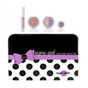 ลด 20 % SIGMA :: Color Pop Makeup Kit - Sugar Plum ชุดแต่งหน้า สีสันสดใส Sugar Plum คอเล็คชั่นใหม่จาก Sigma