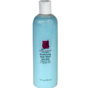 ลด 28 % ALPHA HYDROX :: Moisturizing Body Wash Sea Mist Fragrance ครีมอาบน้ำสูตรอ่อนโยน กลิ่นหอมสดชื่น เผยผิวกระจ่างใส
