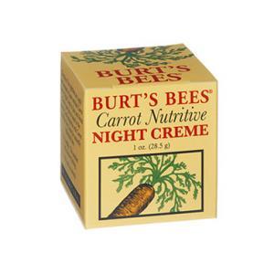 BURT'S BEES :: Carrot Nutritive Night Creme ปลุกผิวคุณให้ตื่นอย่างมีชีวิตชีวาอีกครั้ง ด้วยพลังของเเครอท