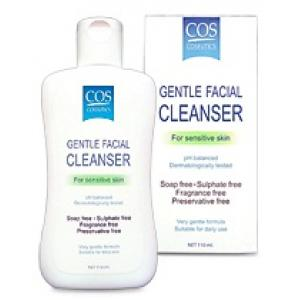 COS COSEUTICS :: Gentle Facial Cleanser For Sensitive Skin ล้างหน้าสูตรอ่อนโยน สำหรับผิวแพ้ง่าย ผิวแห้ง มี 2 ขนาด
