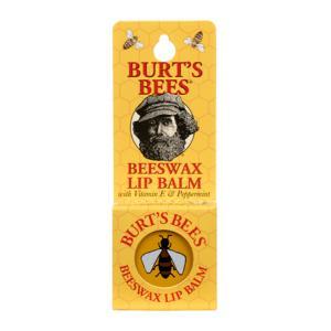 BURT'S BEES :: Burt's bee Beeswax Lip Balm บำรุงริมฝีปาก เก็บความชุ่มชื้น ผลิตภัณฑ์ที่มีชื่อเสียงที่สุดของเบิร์ต บีส์