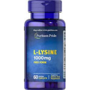 Puritan's Pride L-Lysine 1000 mg / 60 Caplets