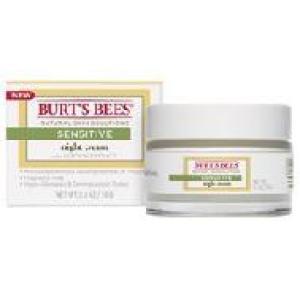 SALE 40% OFF :: BURT'S BEES :: Burt's bee Sensitive Night Cream มอบความชุ่มชื่น คืนความอ่อนเยาว์ บรรเทาอาการระคายเคือง สำหรับผิวเเพ้ง่าย
