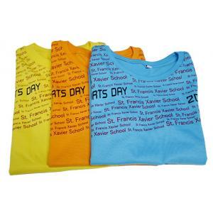 เสื้อคอกลม Cotton # 20 เสื้อกีฬาสี