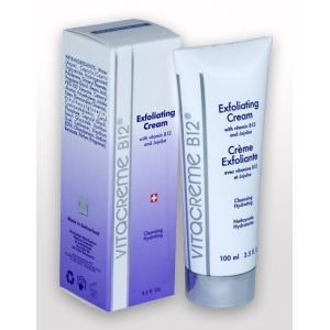 ลด 45 % VITACREME B12 :: Exfoliating Cream ครีมผลัดเซลล์ผิว ช่วยผลัดเซลล์ผิวที่เสื่อสภาพ เผยผิวขาวใส เรียบเนียน เป็นธรรมชาติ ให้ความชุ่มชื่นพร้อมปรับสีผิวให้สม่ำเสมอ